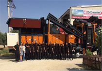 Odstavná plocha FABO Stone Crushing Machines & Concrete Batching Plants Manufacturing Company