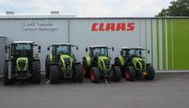 Odstavná plocha   CLAAS Vertriebsgesellschaft mbH  FIRST CLAAS USED Center