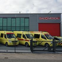 Odstavná plocha DIAC Medical
