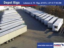 Odstavná plocha Schmitz Cargobull Latvija SIA