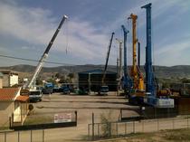 Odstavná plocha KON. TRIANTAFILLAKIS & Co E.E. SPECIAL FOUNDATION ENGINEERING