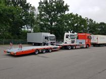 Odstavná plocha Hüffermann Krandienst GmbH