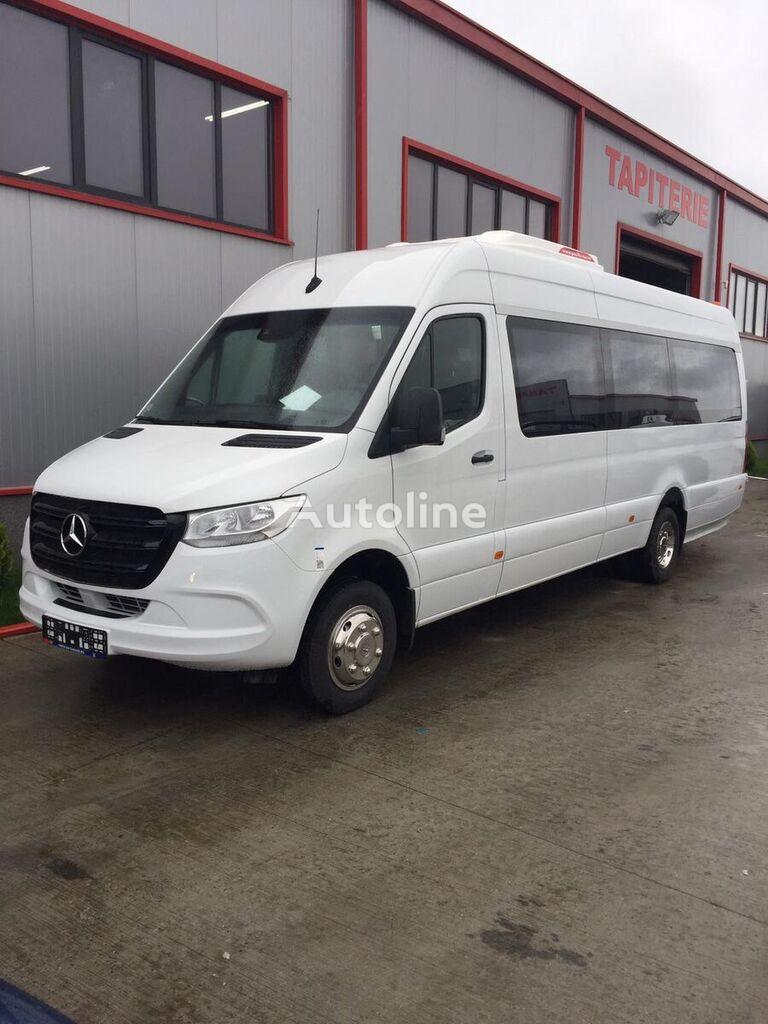 nový cestující minibus MERCEDES-BENZ Sprinter IDILIS 516,  22+1+1  *COC*  prolonged with 50cm fiber/s