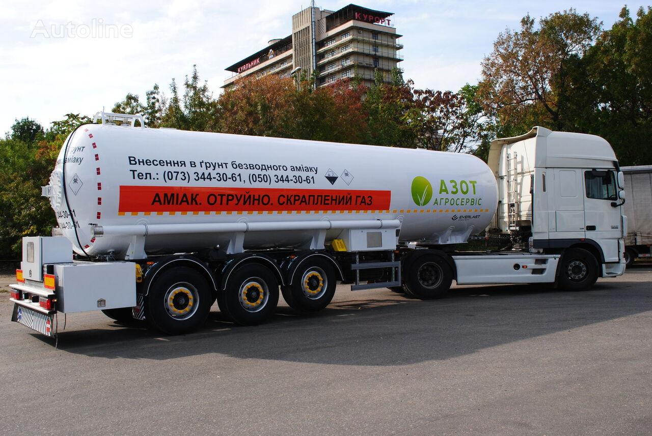 nový chemická cisterna EVERLAST Ammiakovoz