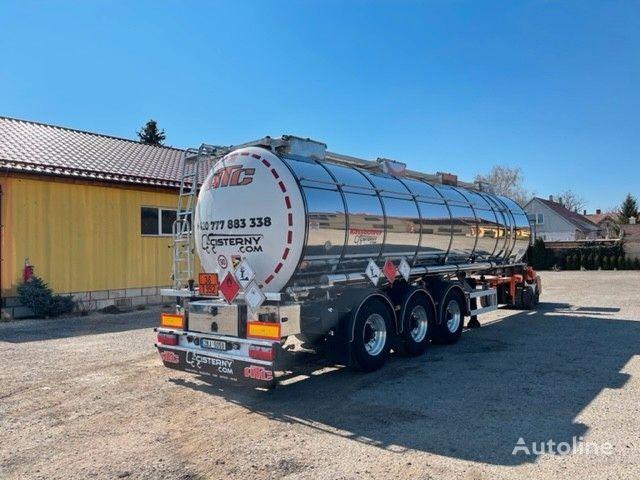nový chemická cisterna KASSBOHRER ADR L4BH