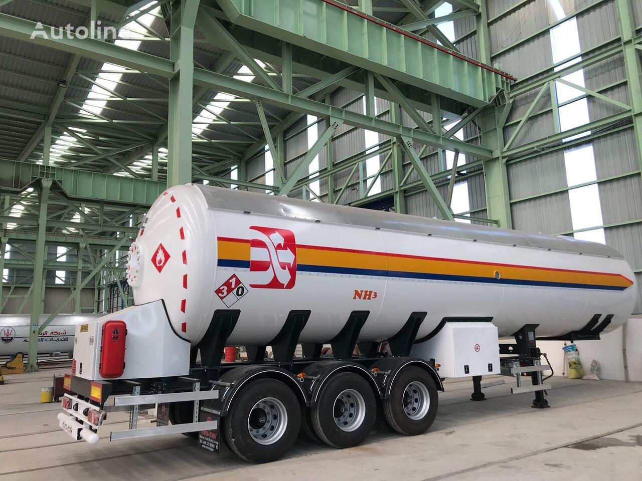 nový chemická cisterna MIM-MAK 57 m3 NH3 TANK