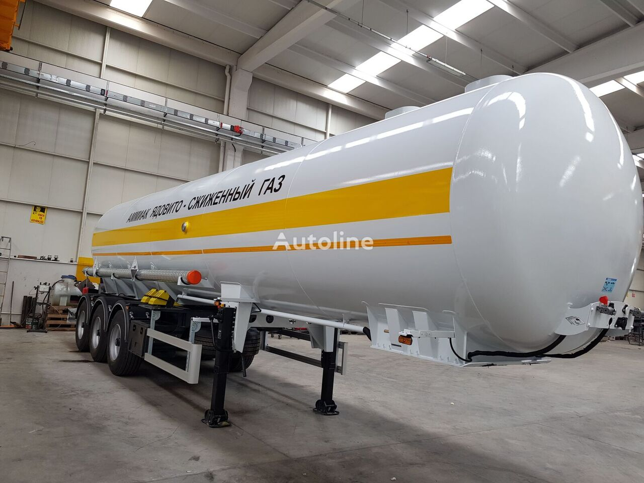 nový chemická cisterna SINAN TANKER-TREYLER Ammonia Tanker