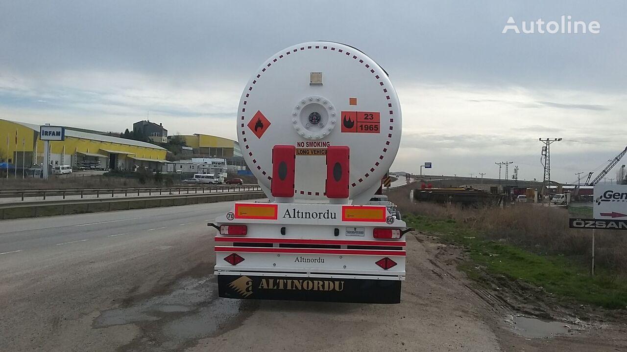 nový cisterna LPG ALTINORDU LPG TANK TRAILER , 12 TYERS