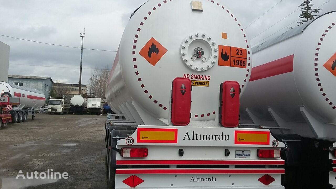 nový cisterna LPG ALTINORDU PRODUCER SINCE 1972,3 AXLE 12 TYERS 60 M3 LPG ROAD TANKER
