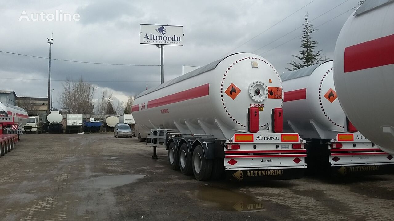 cisterna LPG ALTINORDU PRODUCER SINCE 1972 , 3 AXLE 12 TYERS , 60 M3 LPG ROAD TANKER