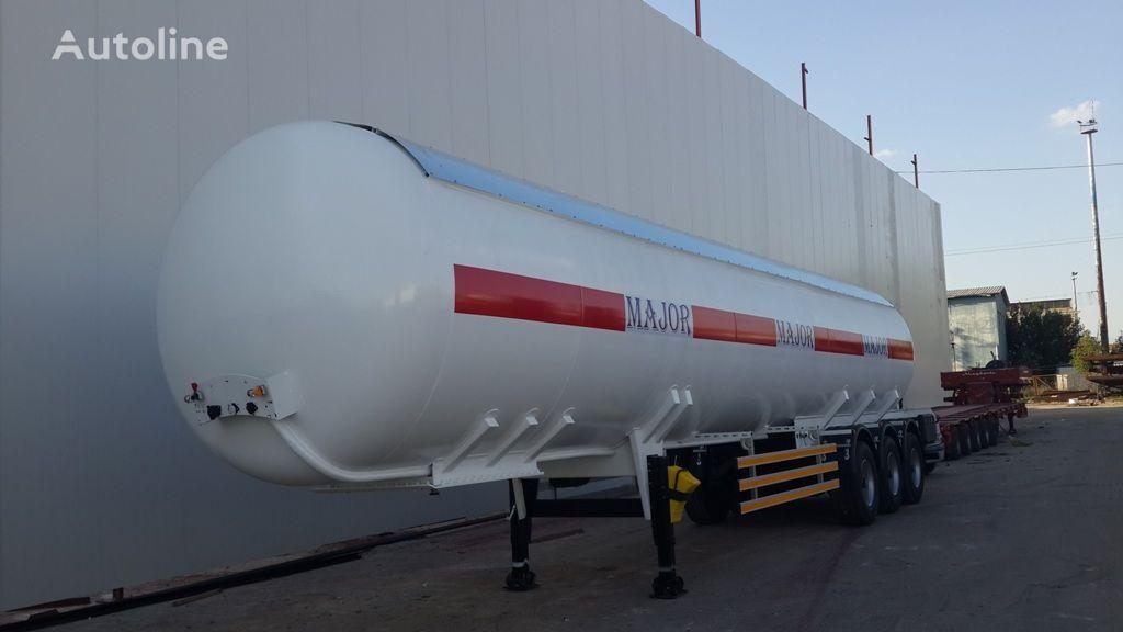nový cisterna LPG ALTINORDU PRODUCER SINCE 1972 ,3 AXLE, 50 M3 LPG TRANSPORT TANK