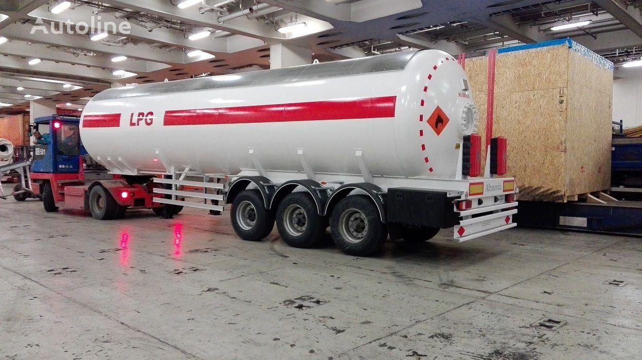 nový cisterna LPG ALTINORDU PRODUCER SINCE 1972, 3 AXLE 52 m3 LPG TRANSPORT TANK