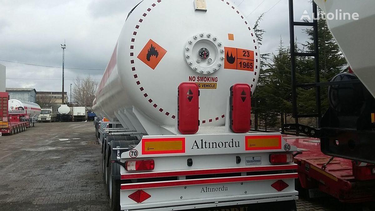 nový cisterna LPG ALTINORDU PRODUCER SINCE 1972 ,3 AXLE 60 M3 12 TYERS LPG SEMI TRAILER TANK
