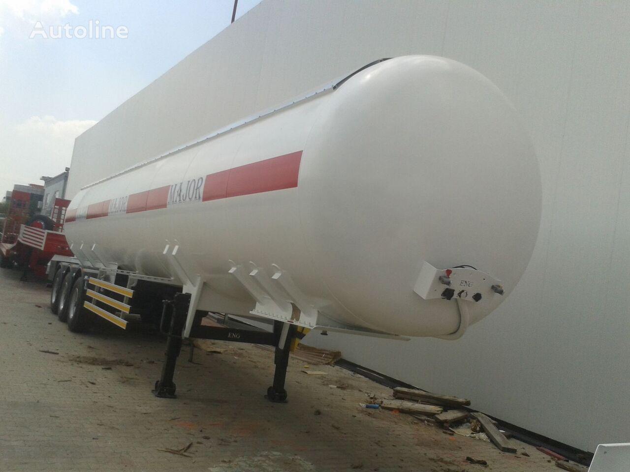 nový cisterna LPG ALTINORDU  PRODUCER SINCE 1972,3 AXLE LPG GAS TANK  50  m3