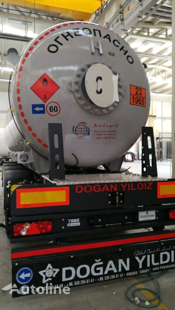 nový cisterna LPG DOĞAN YILDIZ DY3