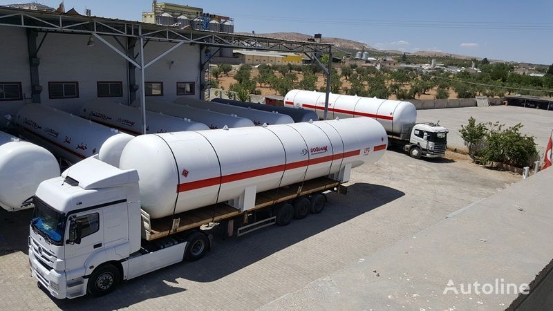 nový cisterna LPG DOĞUMAK 115 M3 LPG STORAGE