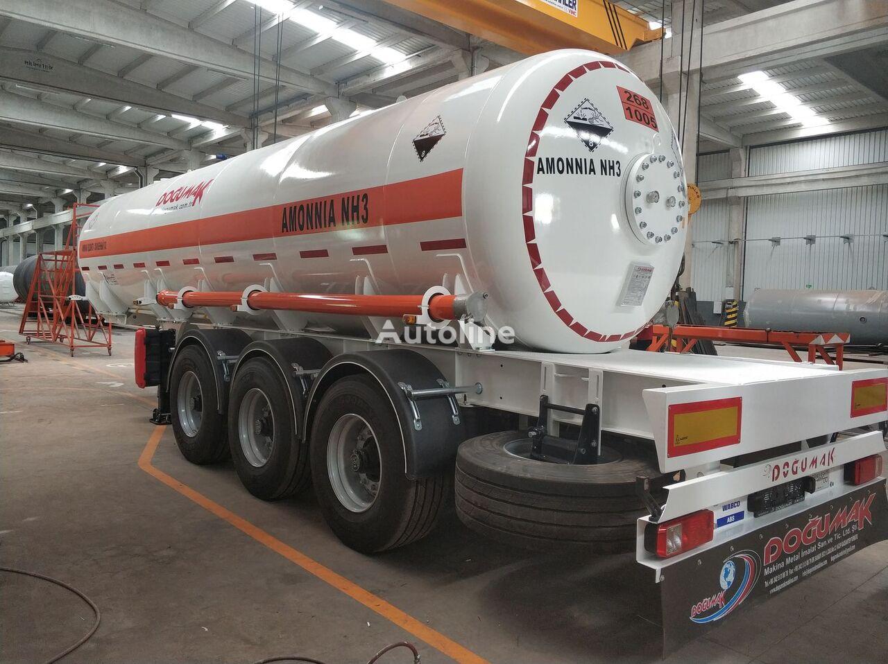 nový cisterna LPG DOĞUMAK AMMONIA SEMI TRAILER