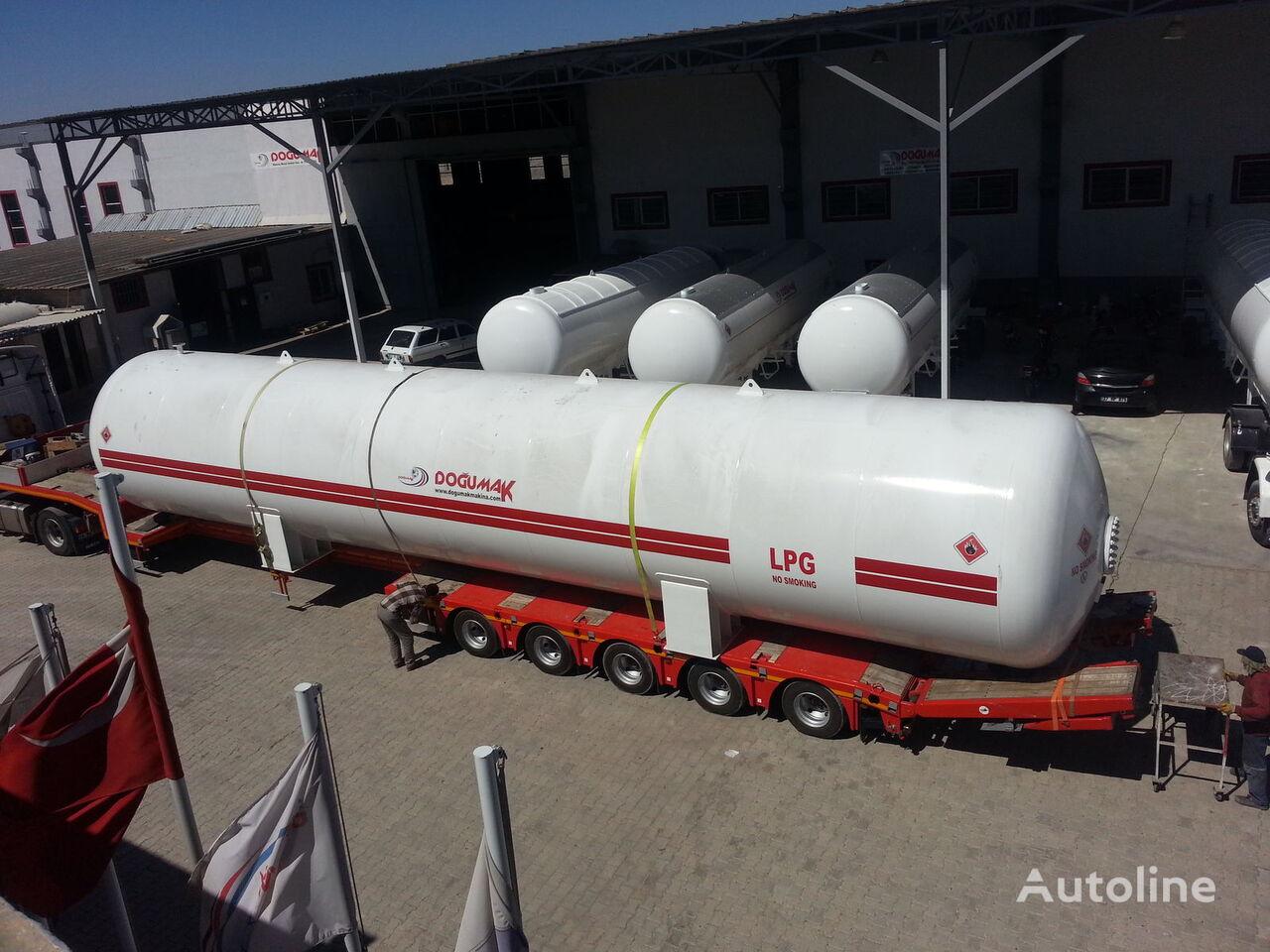 nový cisterna LPG DOĞUMAK INDUSTRIAL LPG STORAGE TANKS