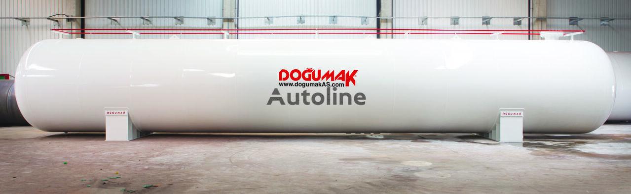 nový cisterna LPG DOĞUMAK LPG STORAGE 125 M3 WHIT ASME DIV2 SEC.8
