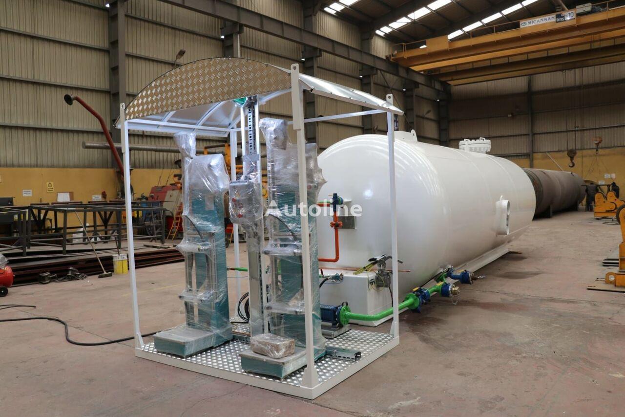 nový cisterna LPG Micansan 23 M3 USED TANK AND NEW SKID SYSTEM