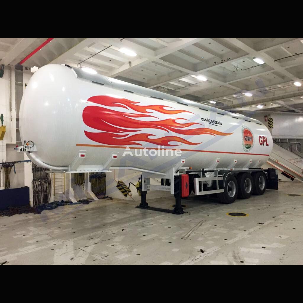 nový cisterna LPG Micansan BIG DISCOUNT 50-60 m3 LPG  READY SHIPPING WEST AFRICA GOOD PRICE