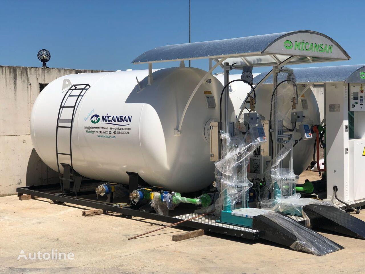 nový cisterna LPG Micansan BIG DISCOUNT NEW 2019 LPG SKID SYSTEMS FILLING SCALES