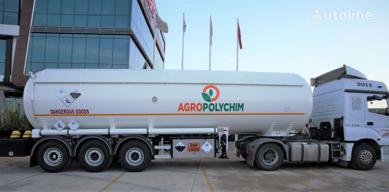 nový cisterna LPG YILTEKS ADR AMMONIA SEMI TRAILER