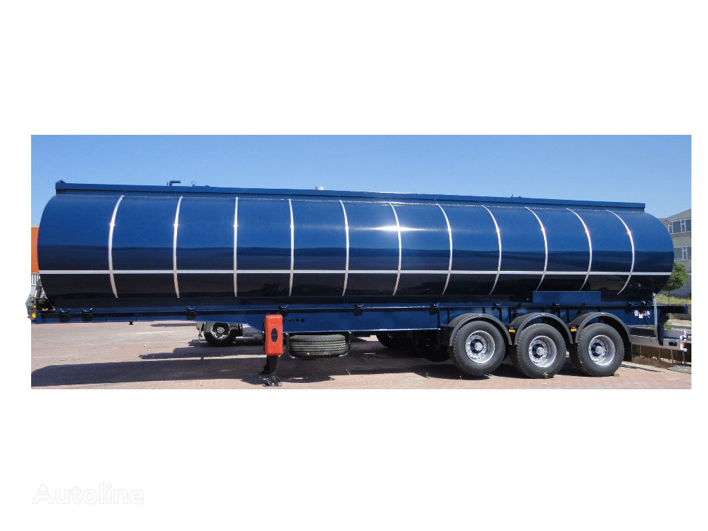 nový cisterna pro přepravu asfaltu