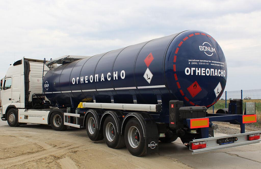 nový cisterna pro přepravu asfaltu BONUM 914220-28