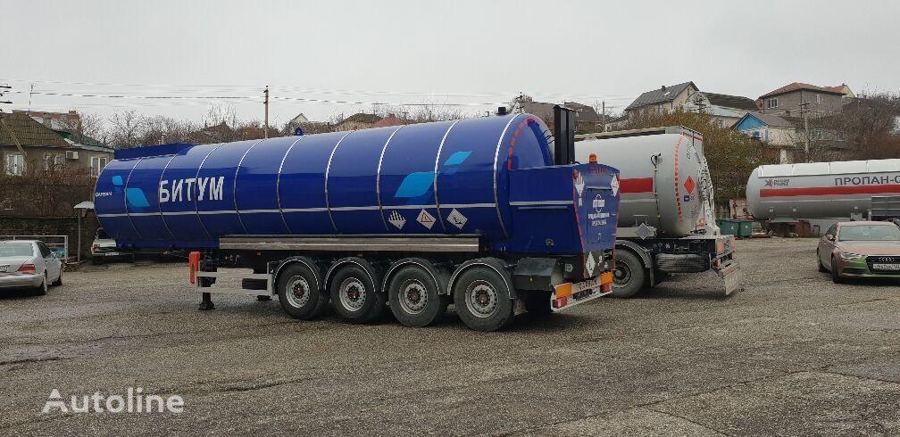 nový cisterna pro přepravu asfaltu CARSAN CTS21