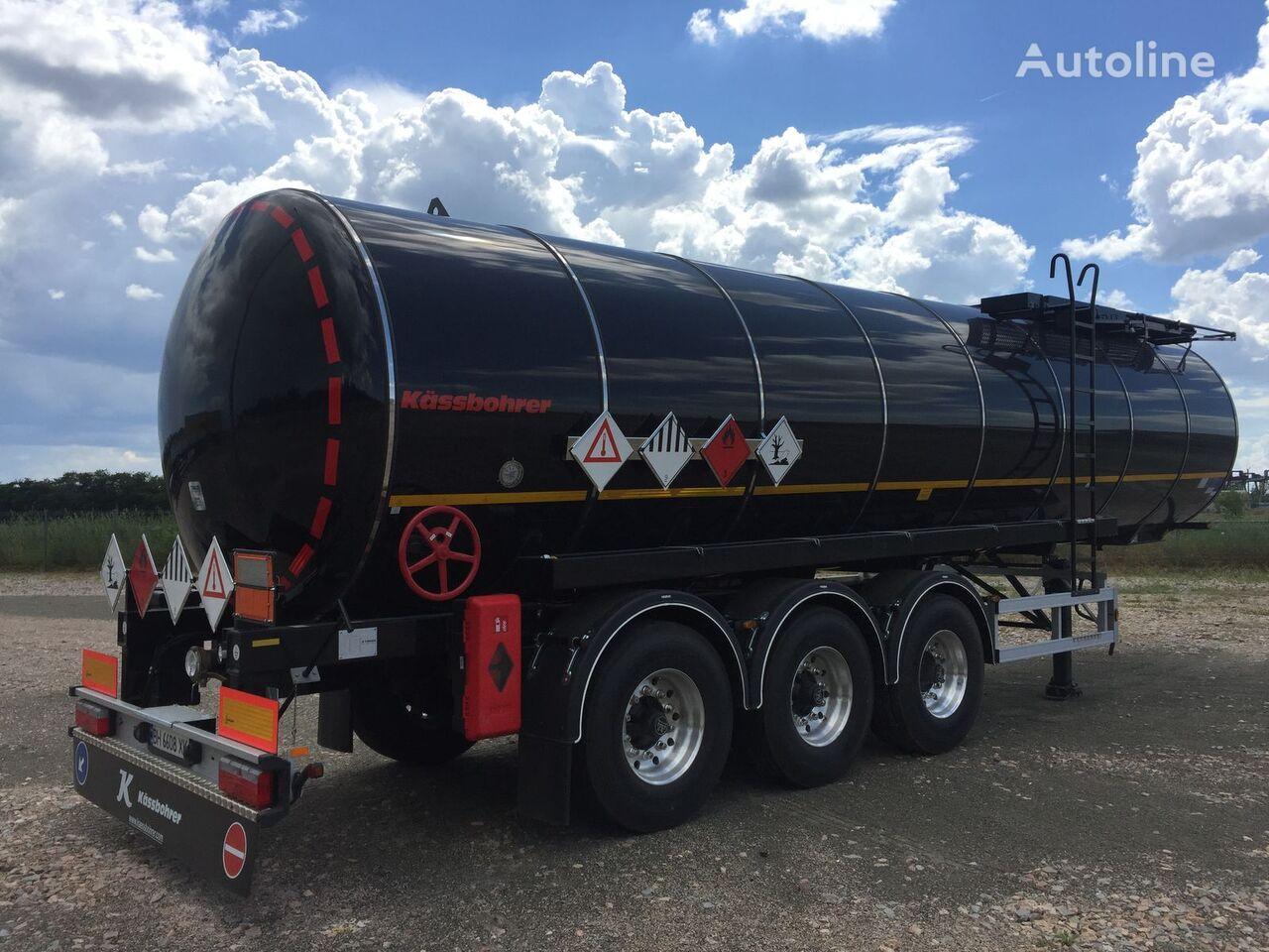 nový cisterna pro přepravu asfaltu KASSBOHRER K. STS.SS 32/ 1-10/24