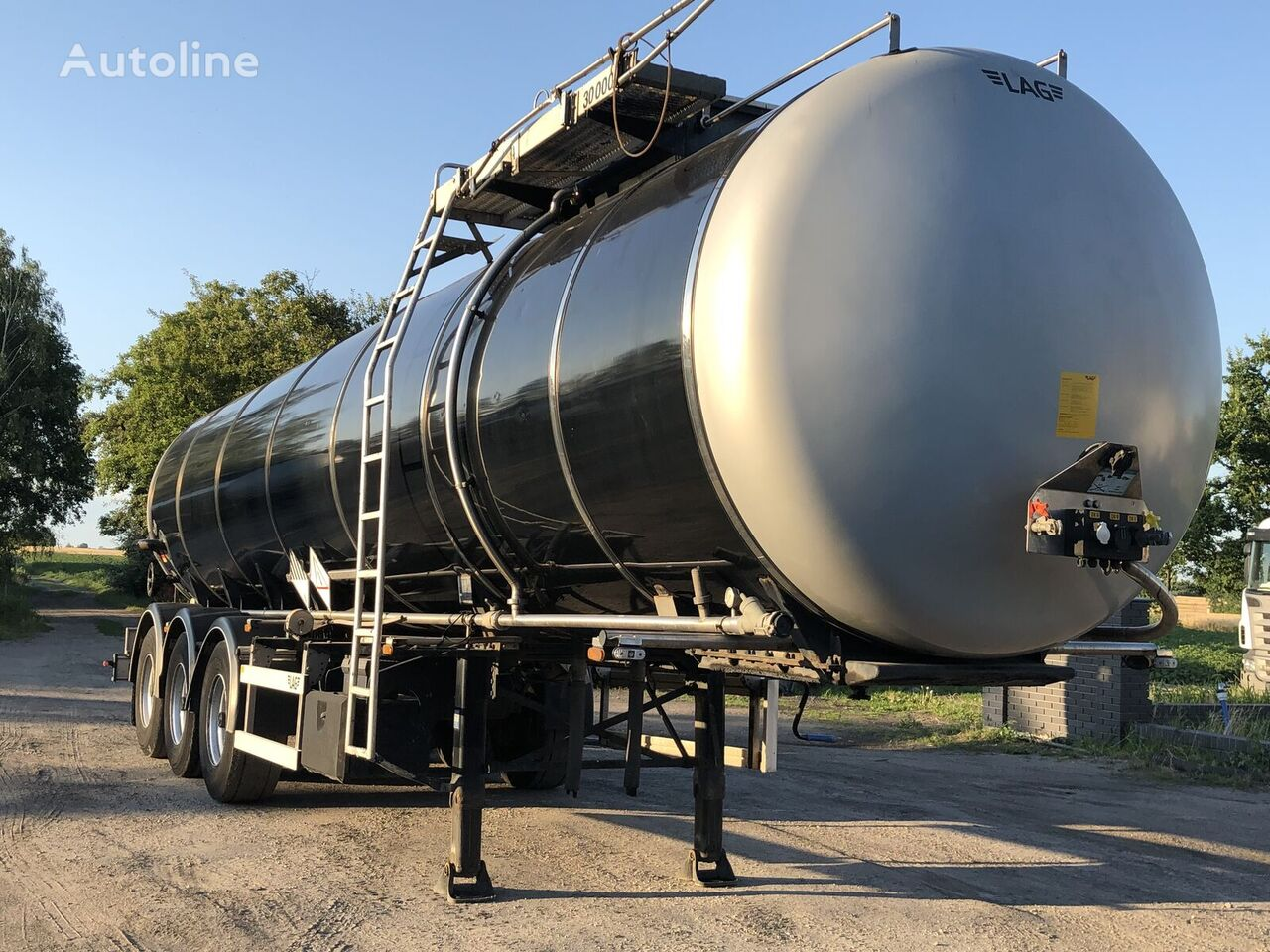 cisterna pro přepravu asfaltu LAG 0-3-39 T