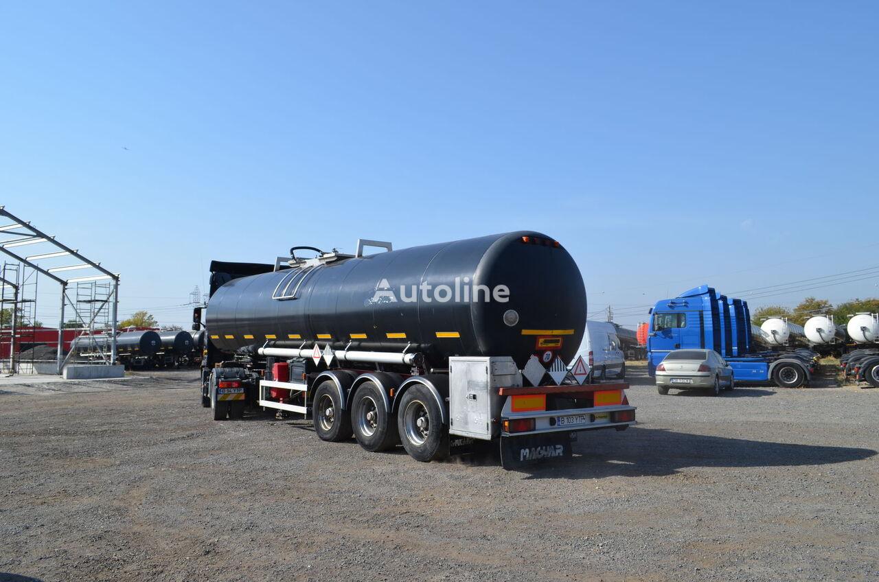 cisterna pro přepravu asfaltu MAGYAR SR40BT - INOX