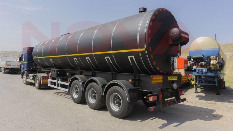 nový cisterna pro přepravu asfaltu NOVA Bitumen Asphalt Tanker with Heating System