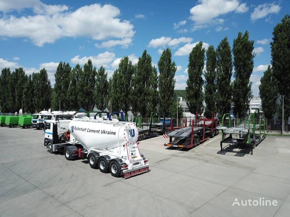 nový cisterna pro přepravu cementu ALI RIZA USTA V-Type