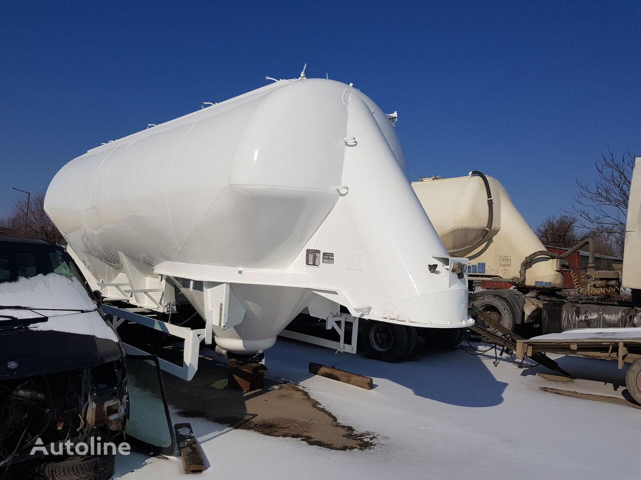 cisterna pro přepravu cementu FELDBINDER EUT 36.3