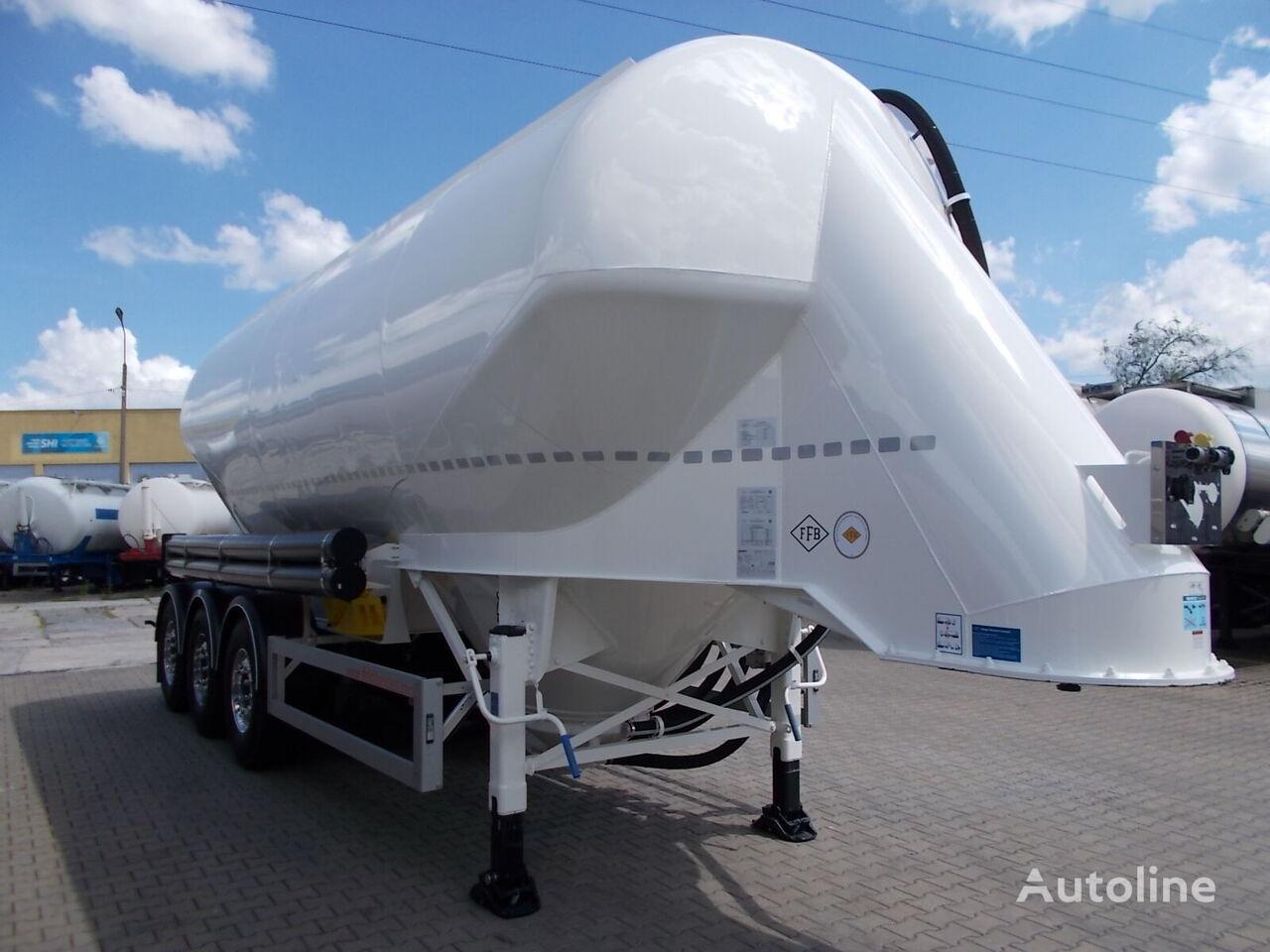 nový cisterna pro přepravu cementu FELDBINDER EUT 37.3 ODBIÓR NATYCHMIASTOWY !!!!