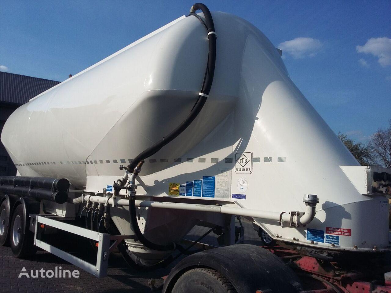 cisterna pro přepravu cementu FELDBINDER EUT 40.3