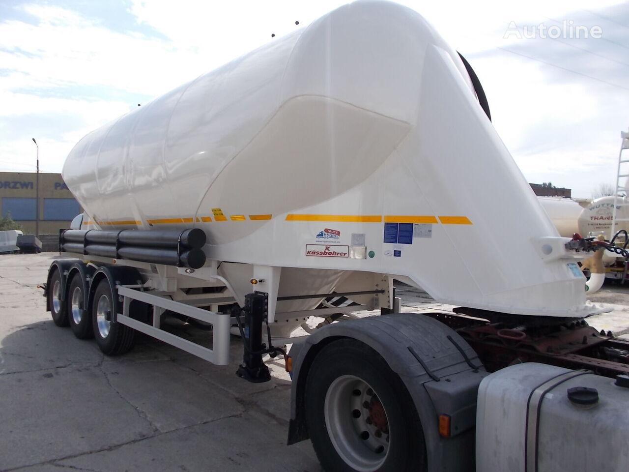 nový cisterna pro přepravu cementu KASSBOHRER SSL 35 ODBIÓR NATYCHMIASTOWY