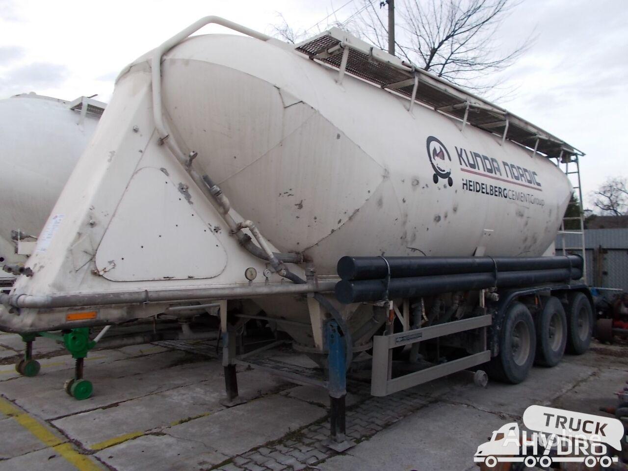 cisterna pro přepravu cementu KASSBOHRER SSL33/10-24