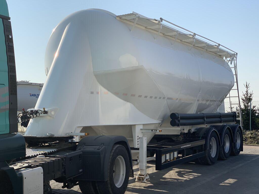 cisterna pro přepravu cementu KASSBOHRER SSL35