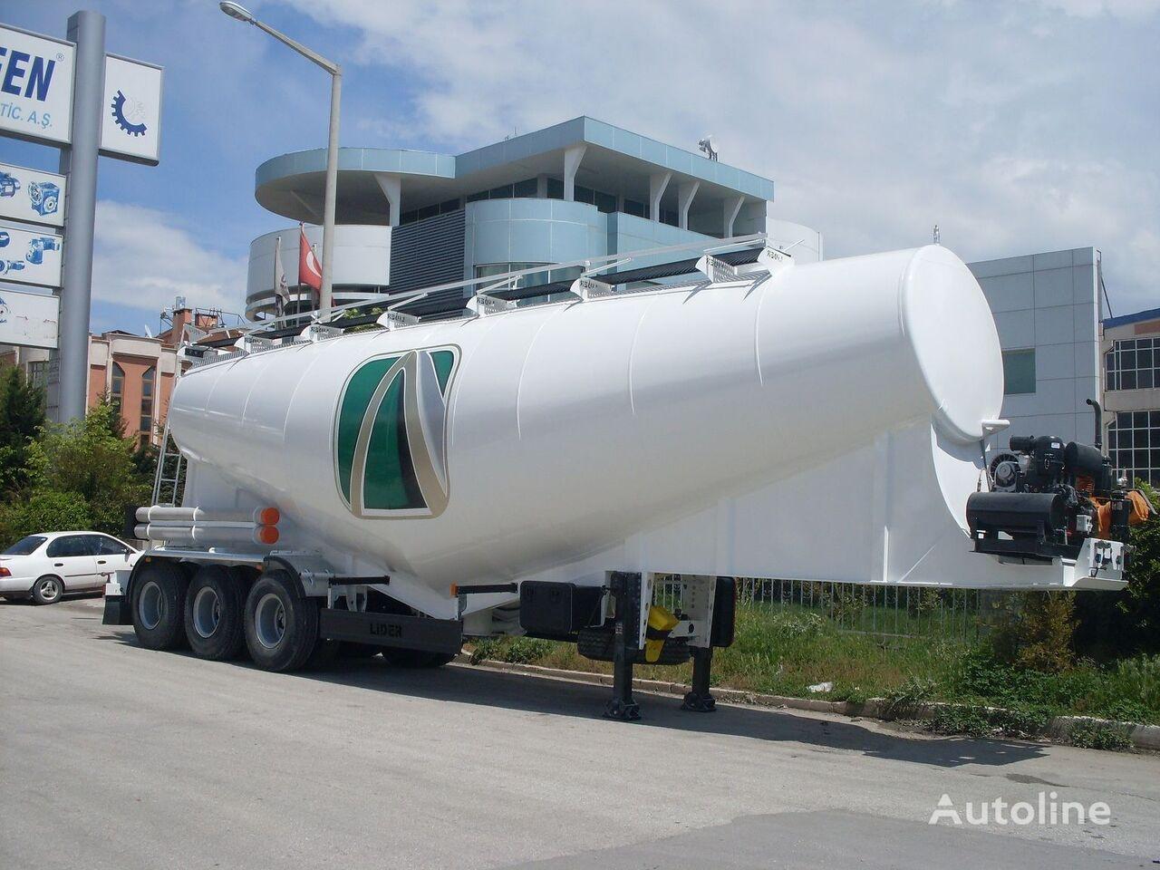 nový cisterna pro přepravu cementu LIDER بلكر اسمنت مواصفات اوربية 2019