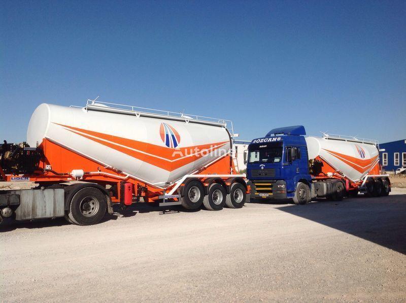 nový cisterna pro přepravu cementu LIDER 2019 MODEL NEW CEMENT TANKER