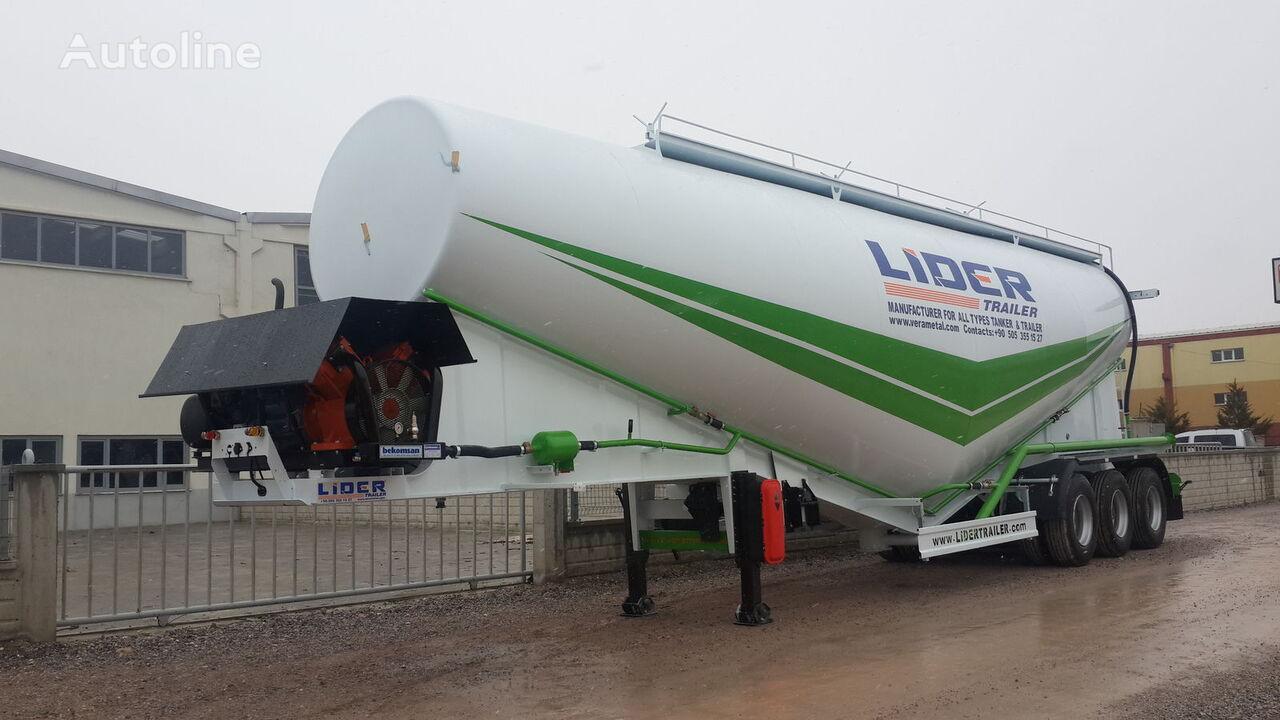 nový cisterna pro přepravu cementu LIDER 2019 NEW 80 TONS CAPACITY  FROM MANUFACTURER READY IN STOCK