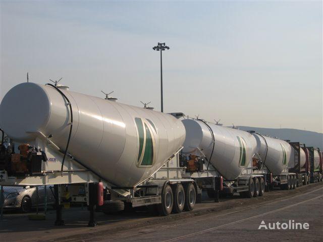 nový cisterna pro přepravu cementu LIDER LIDER NEW 2019 year BULK CEMENT TRAILER