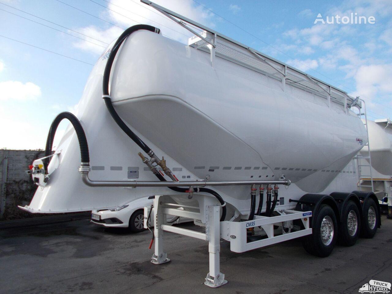 nový cisterna pro přepravu cementu OMEPS CM 35/SPITZER/FELDBINDER Szybkie terminy odbioru - 2019 r.