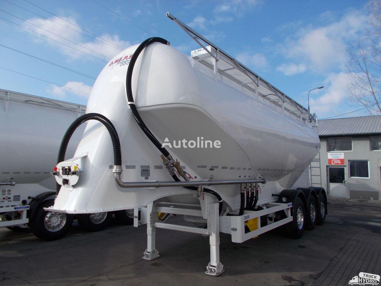 nový cisterna pro přepravu cementu OMEPS CM 39/SPITZER/FELDBINDER Szybkie terminy odbioru - 2019 r.