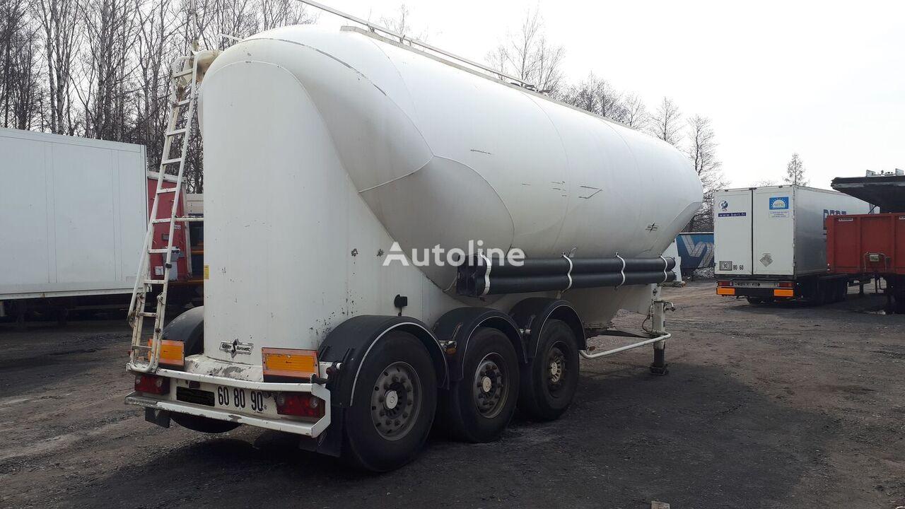cisterna pro přepravu cementu SPITZER Eurovrac SF 2437