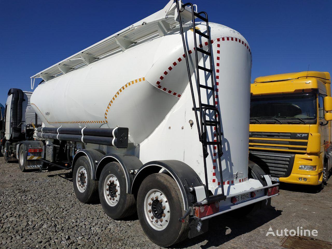 cisterna pro přepravu cementu SPITZER SF SAF