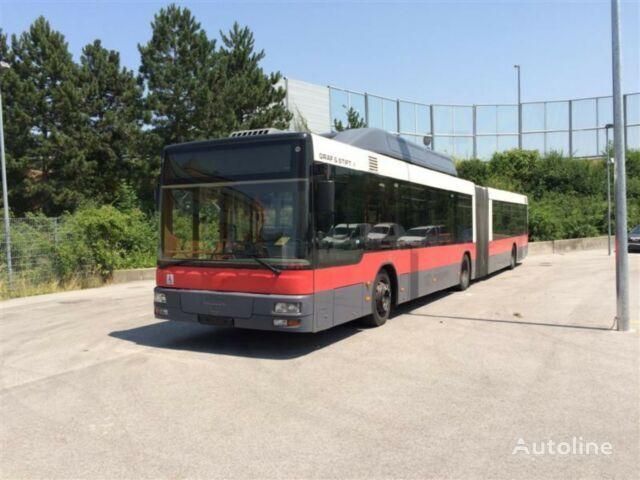kloubový autobus MAN NG 243 LPG MEHR STUCK